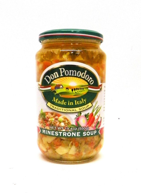 Don Pomodoro All Natural Minestrone / Vegetable Soup - 19.4oz