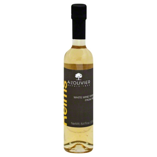 A L'olivier White Wine Vinegar from Reims 8.4 Fl. Oz