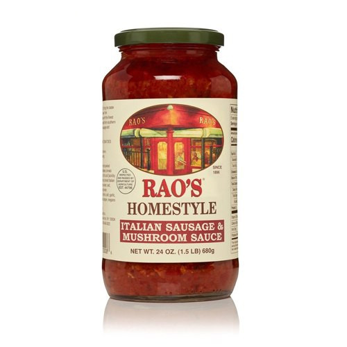 Rao's Homemade All Natural Italian Sausage and Mushroom Sauce - 24oz