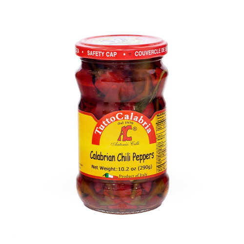 TuttoCalabria Hot Long Chili Peppers - 10oz