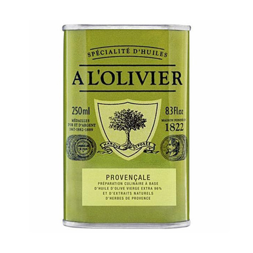 A L'Olivier Herbs of Province Infused Extra Virgin Olive Oil Tin - 8.3oz