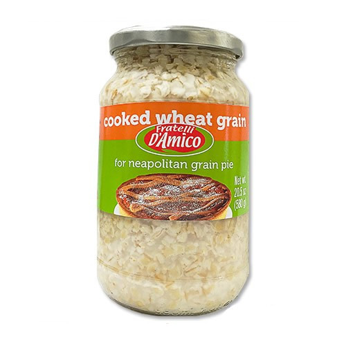 Fratelli D'Amico Cooked Wheat Grain - 20.5 oz