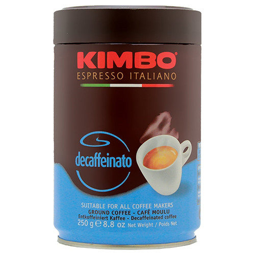 Kimbo Espresso Italiano Decaffeinato Ground Coffee - 8.8oz