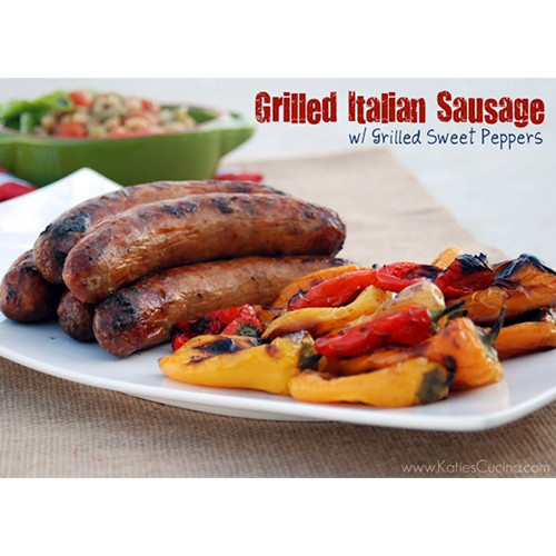 Pork Italian Sausage - Sweet w/ Salt & Pepper (Sold by the Pound)