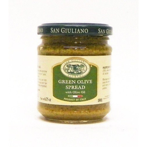 San Giuliano Green Olive Spread w/ Olive Oil - 6.35oz (Pack of 3)