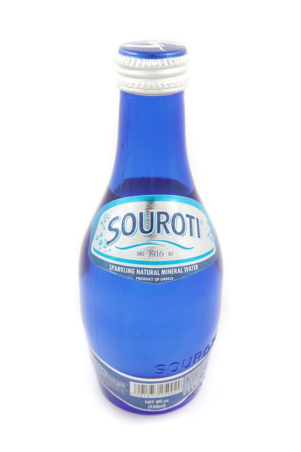 Souroti Sparkling Natural Mineral Water - 25.4 fl. oz (Pack of 3)