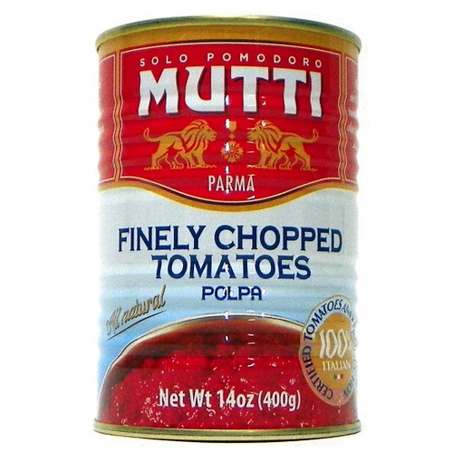 Mutti All Natural Finely Chopped Tomatoes - 14oz