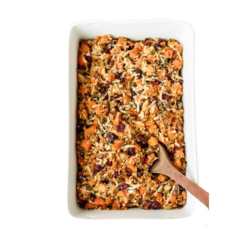 PastaCheese Wild Rice and Sausage - 5lb Tray