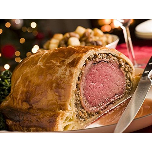 USDA Prime Beef Filet Mignon Wellington - 4-4.5lbs