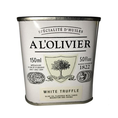 L'Olivier White Truffle Infused Extra Virgin Olive Oil Tin - 5oz