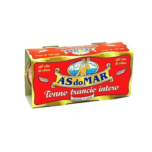 A's do Mar Tuna w/ Olive Oil in Tin, Twin Pack - 3.5oz Each