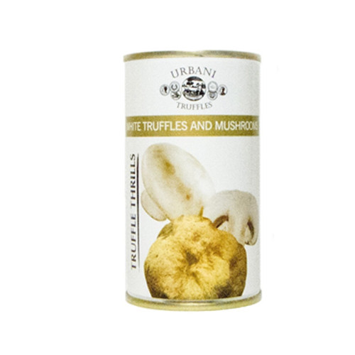 "Urbani Truffles ""Truffle Thrills"" White Truffles and Mushrooms - 6.1oz (Pack of 4)"