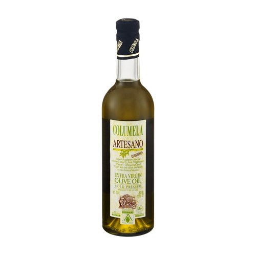 Columela Artesano Unfilitered Cold Pressed Extra Virgin Olive Oil - 17oz