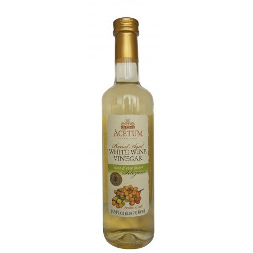 Acetum Selezione Barrel Aged White Wine Vinegar - 16.9 oz