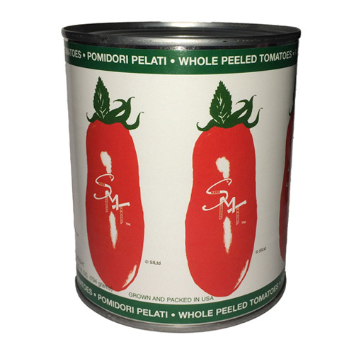 SMT San Marzano Style Tomatoes Whole Peeled - 28oz  (Pack of 12)