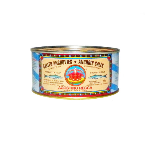 Agostino Recca Salted Anchovies - 1.12lbs