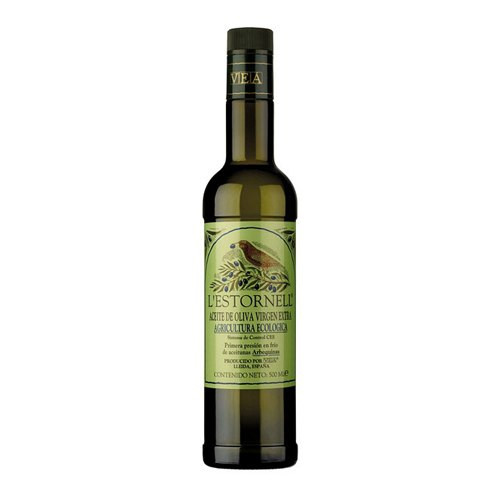 L'Estornell Organic Extra Virgin Olive Oil from Spain - 16.9oz