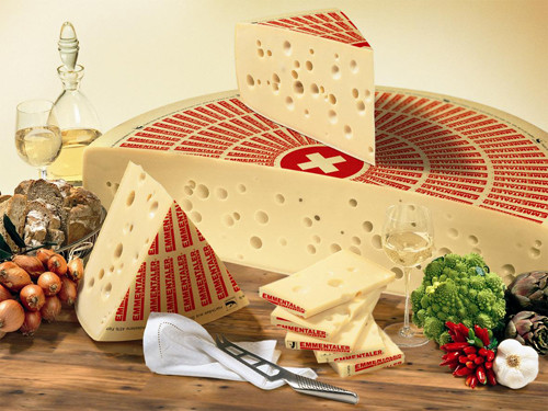 Swiss Emmentaler (Sold by the Pound)