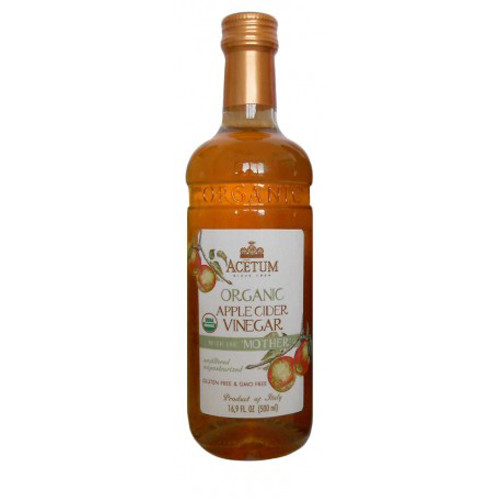 Acetum Organic Apple Cider Vinegar with the 'Mother' - 16.9oz