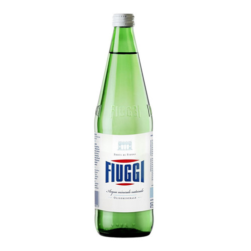 Fiuggi Natural Still Mineral Water - 1Liter (6 Bottles)