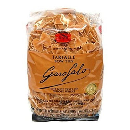 Garofalo No.5-78 Farfalle Whole Wheat Pasta - 16oz (20 Pack)