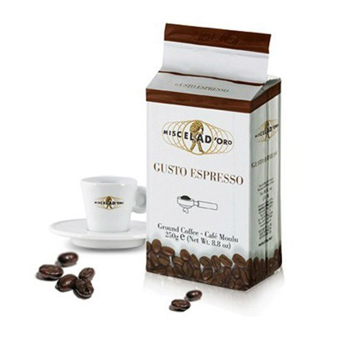 Miscela d'Oro Gusto Espresso Ground Coffee - 8.8oz (2 Pack)