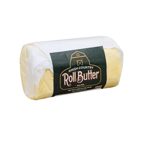 Amish Country Roll Butter Salted - 2lbs