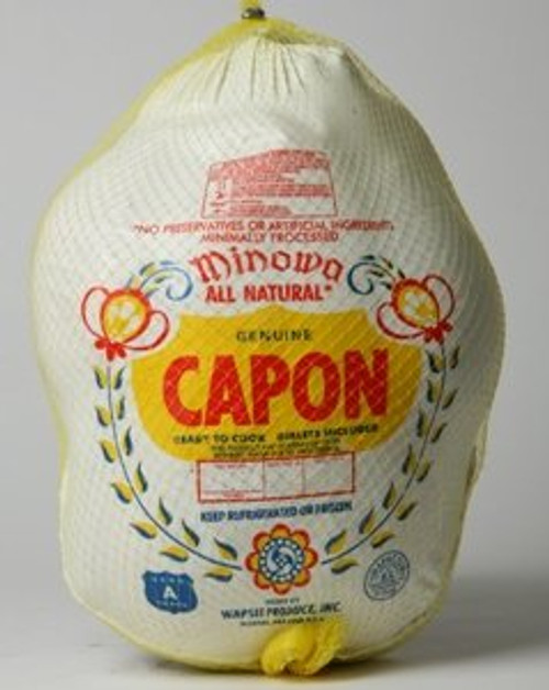 Minowa All Natural Capon - 8lbs