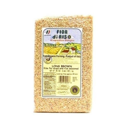 Fior di Riso Organic Long Brown Rice - 16oz