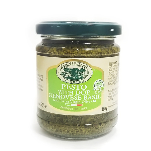 San Giuliano Pesto Basil Sauce w/ Extra Virgin Olive Oil - 6.35oz