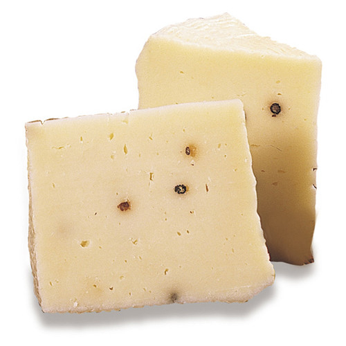 Pecorino Primosale Siciliano Cheese with Peppercorn - 1lb Avg.