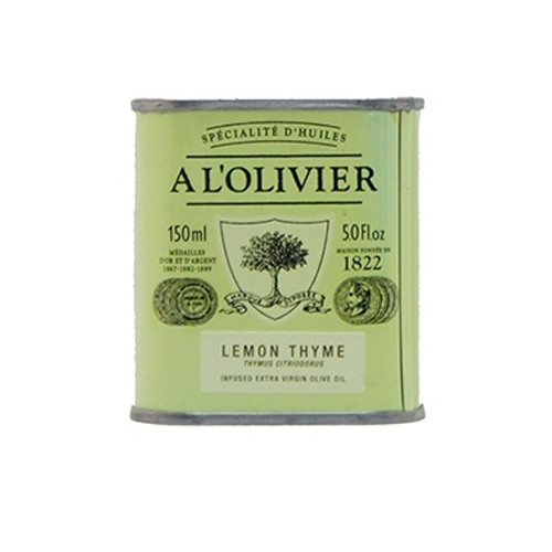 A L'Olivier Lemon Thyme Infused Extra Virgin Olive Oil - 5oz