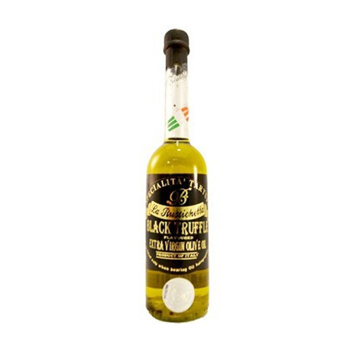 La Rustichella Black Truffle Flavored Olive Oil - 3.4oz
