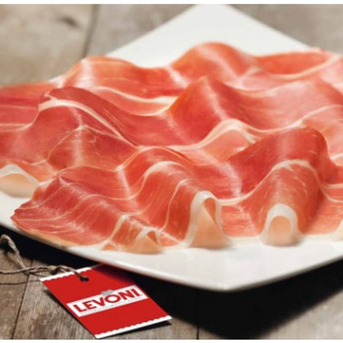 Levoni Prosciutto di San Daniele DOP, Aged 16 Months, Imported from Italy - (Sliced by the Pound)