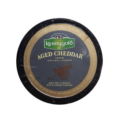 Irish Kerry Gold Aged Cheddar (Sold by the Pound)