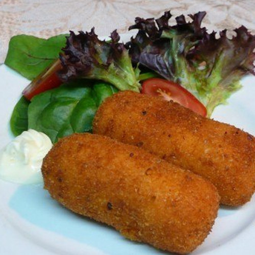 Chicken Croquette w/Olives - 30pc
