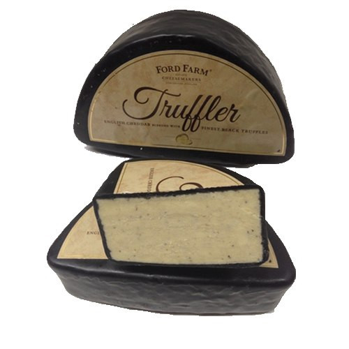 Ford Farm Ford Black Truffle Cheddar Cheese - 1lb