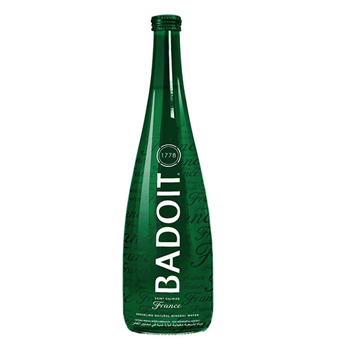 Badoit Sparkling Natural Mineral Water - 25.36oz (Pack of 2)