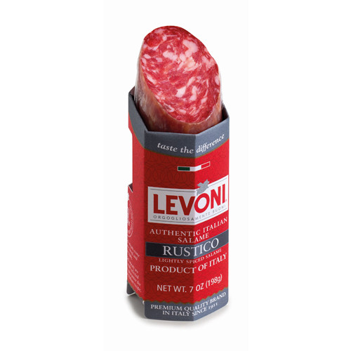 Levoni Salame Levonetto Rustico, Lightly Spiced - 7oz