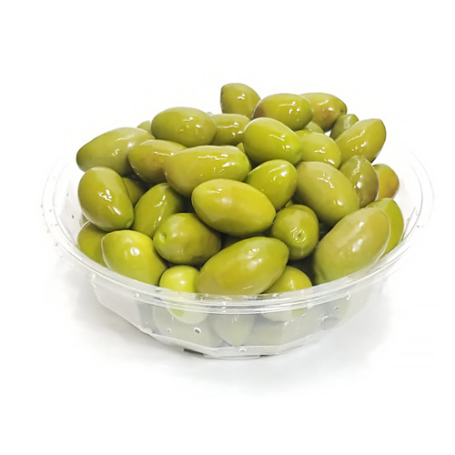 """PastaCheese """"Bella di Cerignola"""" Green Olives in Brine (Sold by the Pound)"""