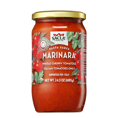 Sacla Italia Marinara Whole Cherry Tomatoes - 23.6oz
