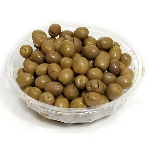 Fresh PastaCheese Sicilian Cracked Green Olives (Sold by the Pound)