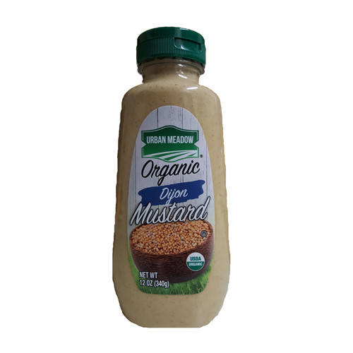 Urban Meadow Organic Dijon Mustard - 12oz