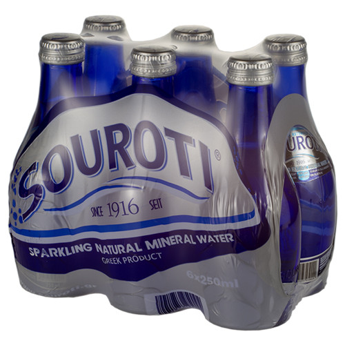 Souroti Sparkling Natural Mineral Water 12 Bottle 250ml