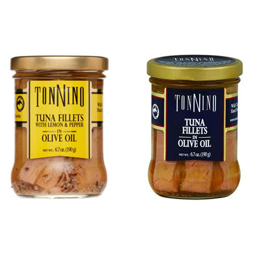 Tonnino Tuna Fillets (Pack of 2)