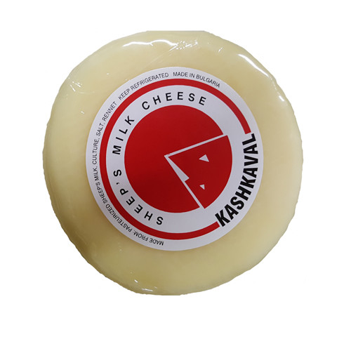 PastaCheese Kashkaval Sheep's Milk Cheese Imported From Greece - 1lb