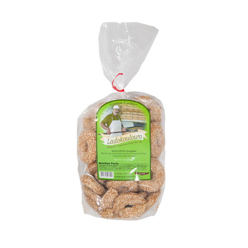 Cretan Cookies Ladokoulouro Imported From Greece - 17.63oz