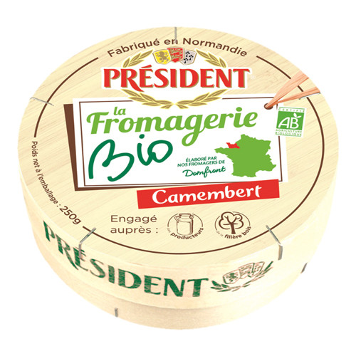 President La Fromagerie Bio Camembert - 250g