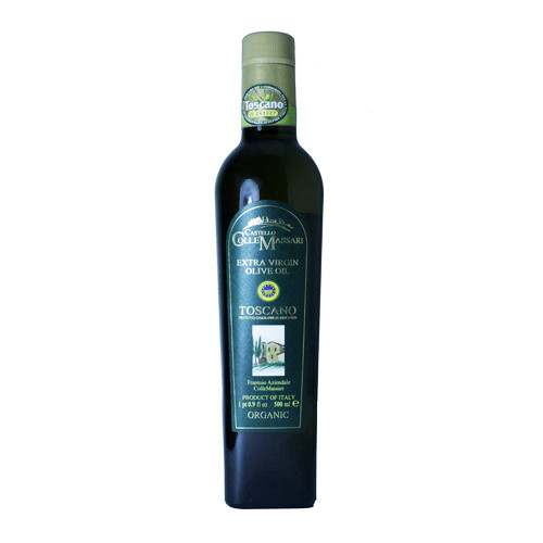 Castello Colle Massari Organic Extra Virgin Olive Oil Toscano 500 ml