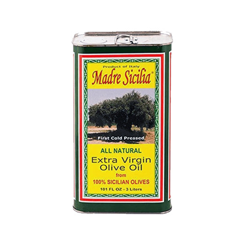 MADRE SICILIA EXTRA VIRGIN OLIVE OIL 101 FL OZ 3 LITERS